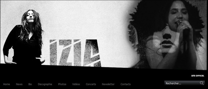 Izia, Good music et site Web