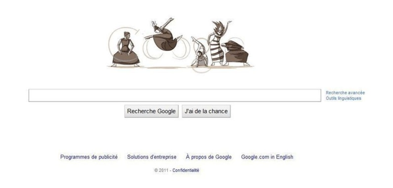 Google Doodle anim de 11 Mai