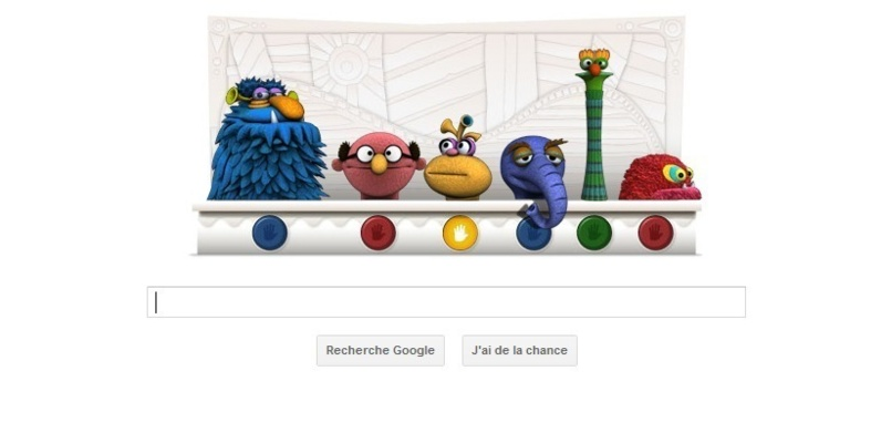Le Doodle de Google...le pre du Muppet Show  l'honneur
