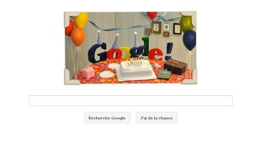 Google 13 ans