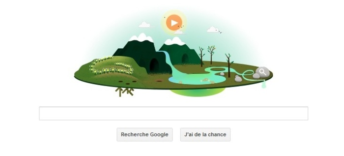 Google clbre la Journe Mondiale de la Terre ce 22 Avril