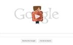 La Saint Valentin par Google....un Doodle tendre et gentil