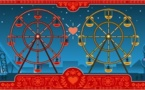 Doodle de la Saint Valentin....et Georges Ferris