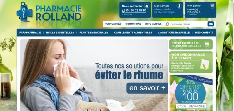 Pharmacie Rolland à Ajaccio mais aussi sur internet