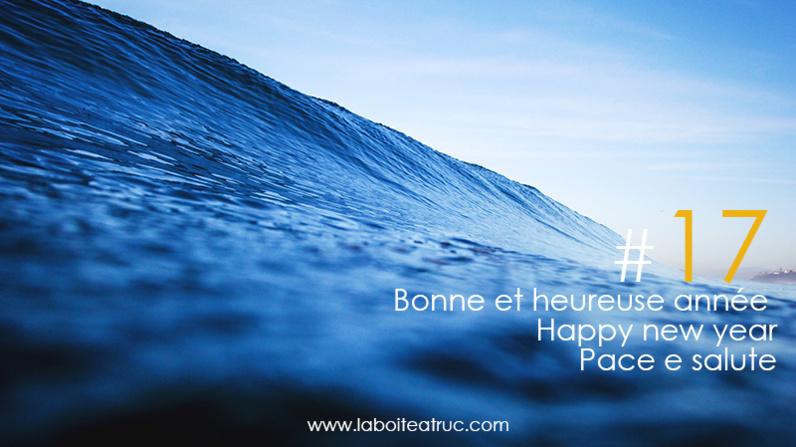 Bonne et heureuse année - Pace e salute