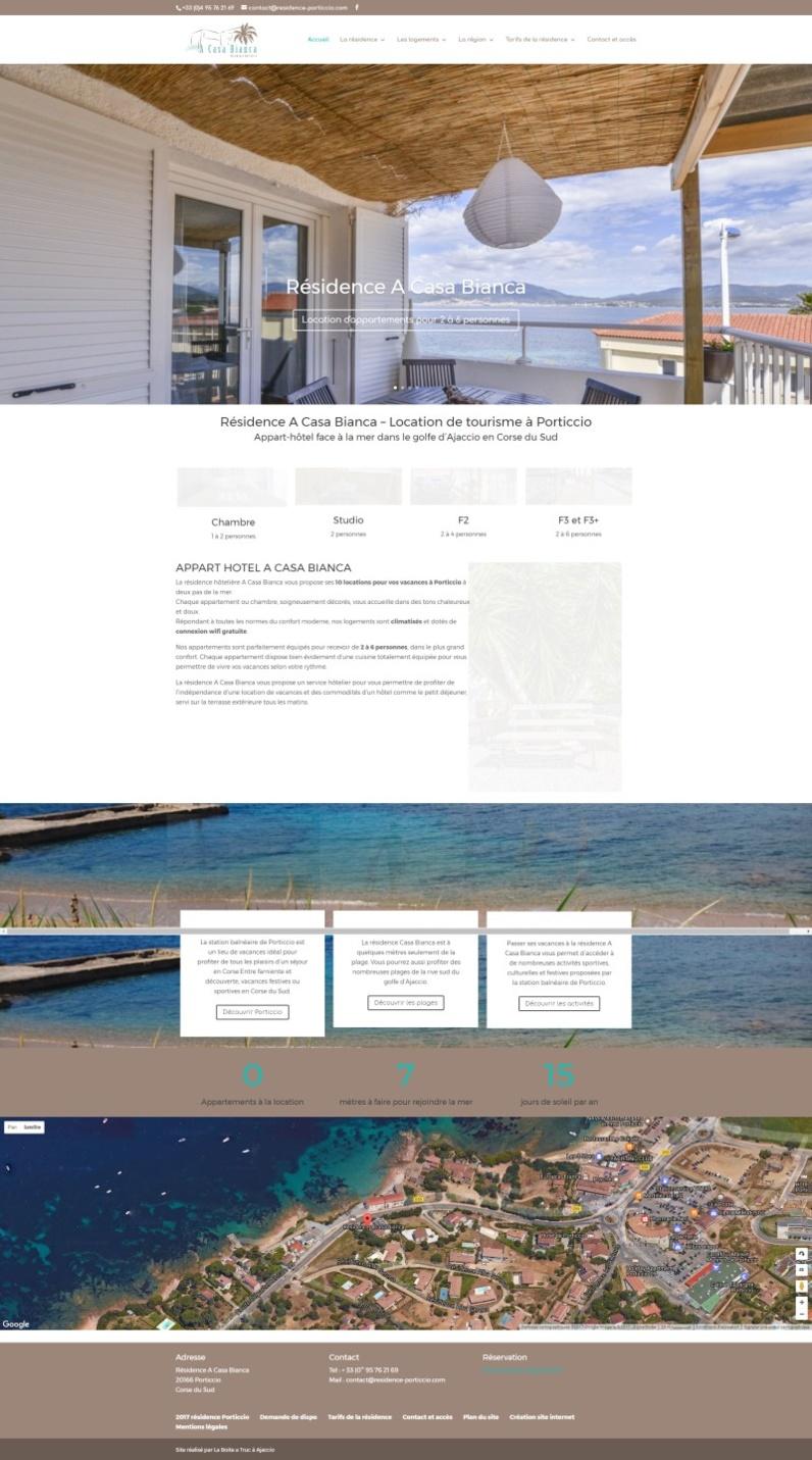 Nouvelle réalisation : la résidence A Casa Bianca à Porticcio