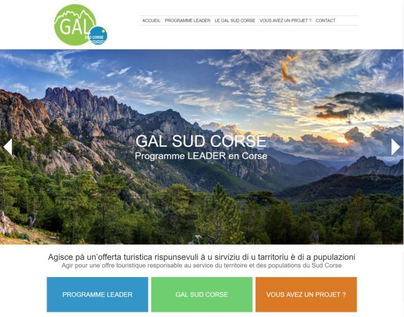 Nouveau site internet : Gal Sud Corse