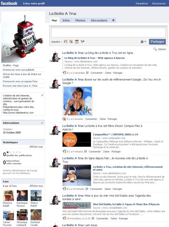 La Boite A Truc sur Facebook.