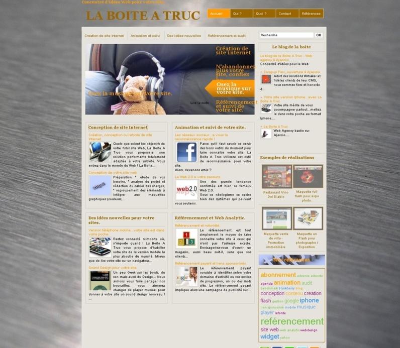 Le site de La Boite A Truc en ligne !