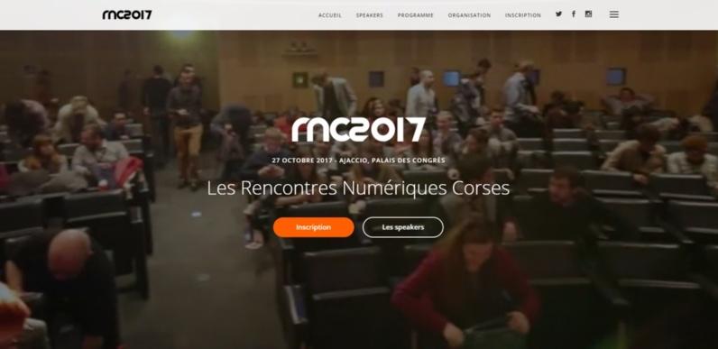 Rencontres numériques corses 2017