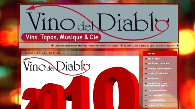 Mise à jour du site du Vino Del Diablo
