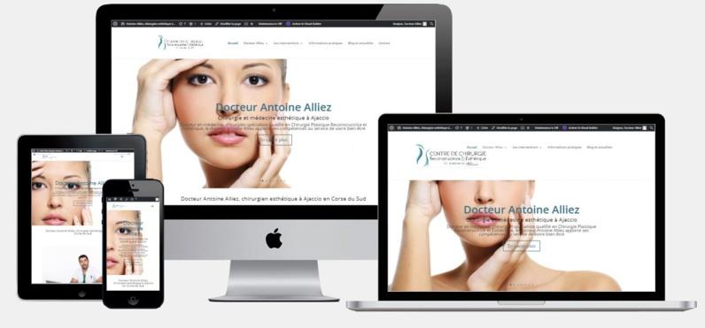 Nouveau site : docteur Antoine Alliez