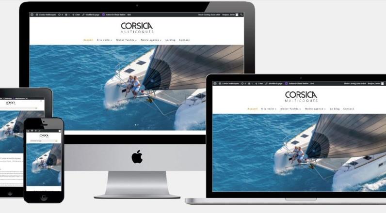 Nouveau site internet : Corsica Multicoques