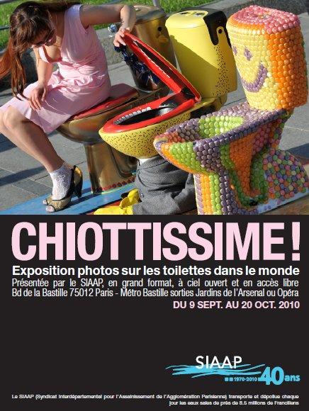 Expo Chiotissime au SIAAP