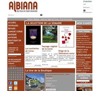 Albiana.fr, le nouveau site par La Boite A Truc.