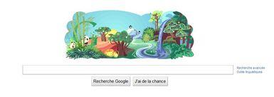 Jour de la terre, le nouveau Doodle Google animé