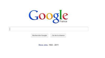 Google Steve Jobs