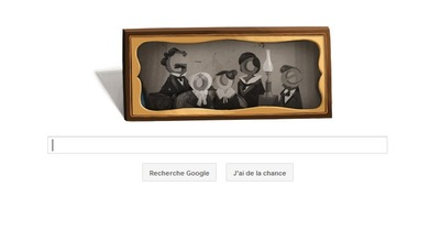 Doodle Louis Daguerre du 18 Novembre 2011