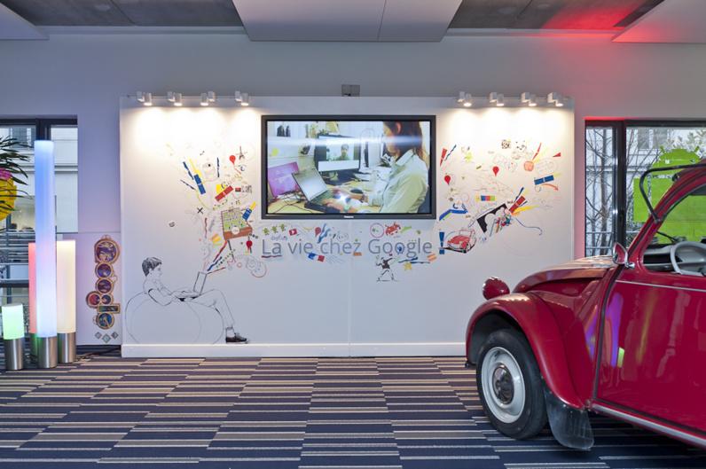 L'univers Googleplex ouvre à Paris