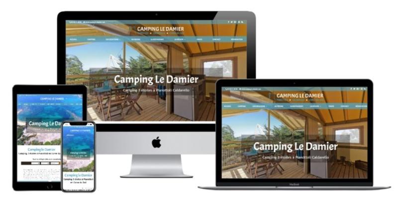 Nouveau site : Camping Le Damier à Pianottoli