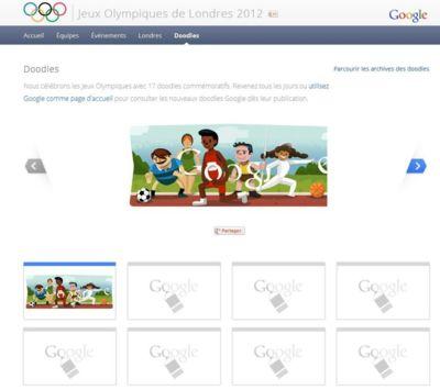 Serie de Doodle Olympique