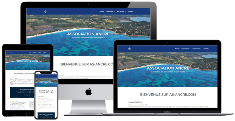 Nouveau site : l'association Ancre