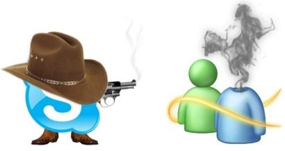 La fin de MSN, Skype m'a tuer !
