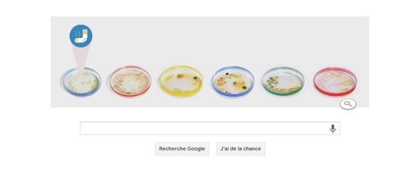 Un Doodle animé pour les boites de Petri by Google