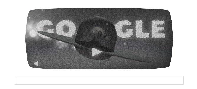 Un superbe Doodle Animé pour célébrer l'affaire Roswell...Google inspiré !