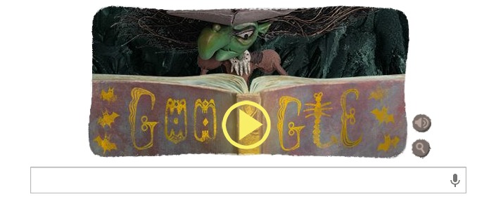 Doodle Google Halloween 2013