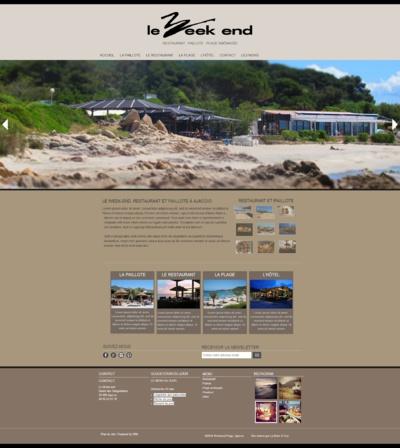 Nouveau site du Week End à Ajaccio