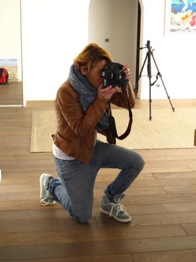 Cristelle, photographe attitrée de la boite a truc