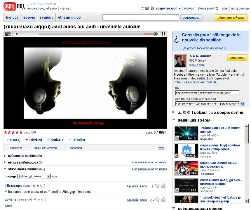 You Tube, version renversante ce 1er Avril