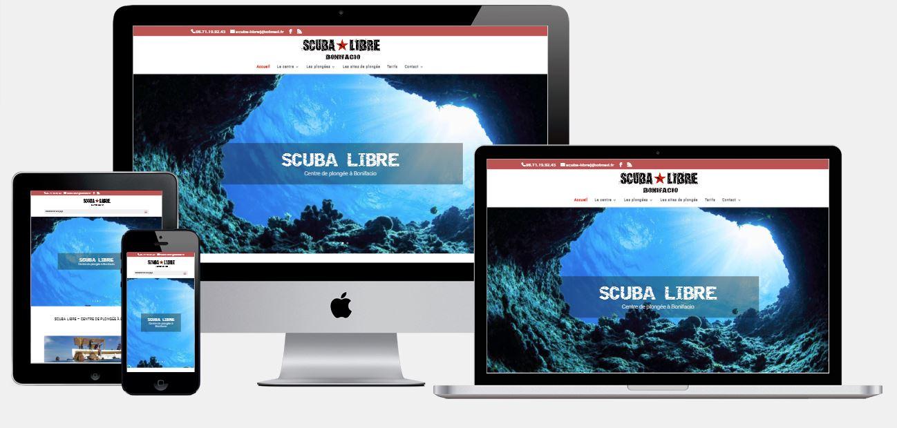 Site Scuba Libre Bonifacio