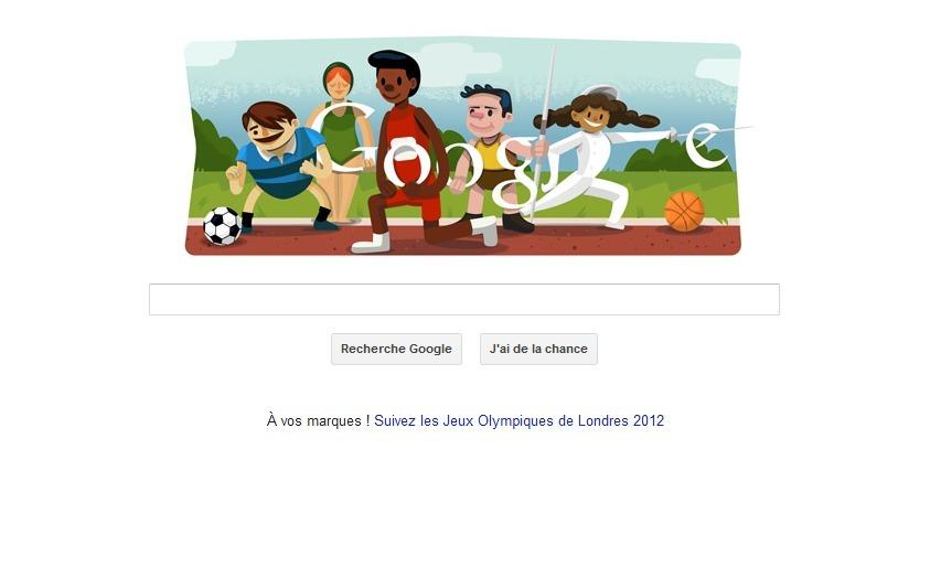 Doodle Ouverture Jeux Olympiques 2012