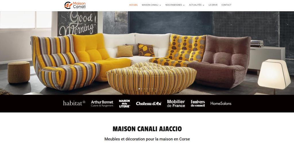 Nouveau site : Maison Canali