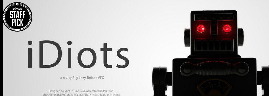 iDiots....les robots de La Boite A Truc et la mode des smartphones