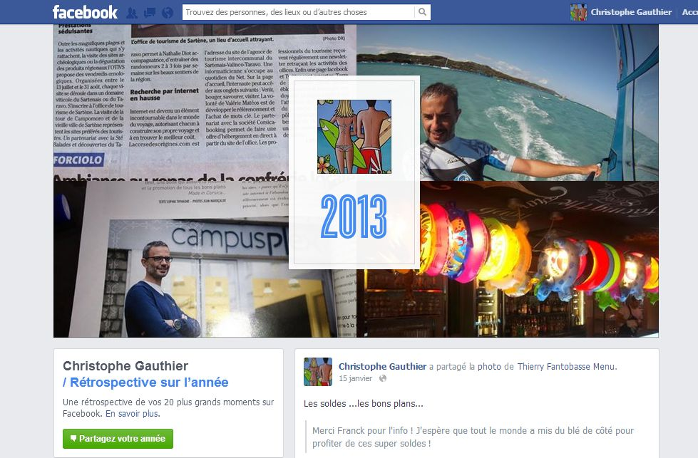 Year 2013 In Review Facebook