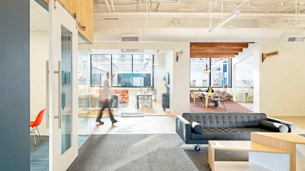 Les bureaux les plus cools du monde sont dans le etourisme