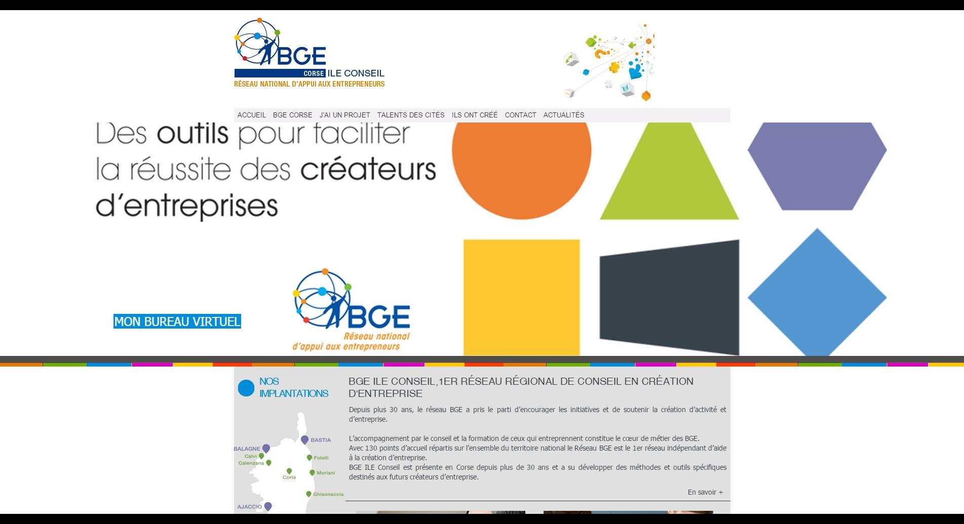 Nouveau site internet par La Boite A Truc