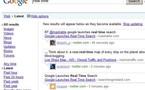 Google en temps réel ! C'est parti, c'est maintenant ,c'est sur Google.com