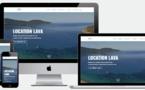 Nouveau site internet : Location Lava