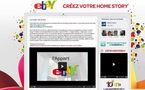 Ebay se lance dans le web Realité ou le home story pour ses 10 ans.
