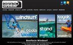 Nouveau site Internet par La Boite A Truc : www.bonifacio-windsurf.com