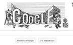 Google offre un nouveau Doodle remarquable....l'un des plus beau !