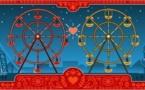 Doodle de la Saint Valentin....et Georges Ferris